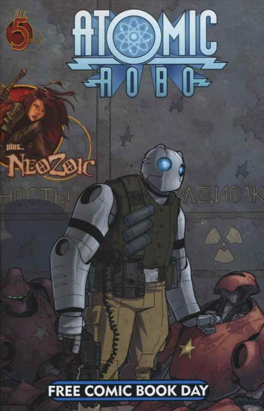 Atomic Robo FCBD #2008 VF/NM; Red 5 | save on shipping - details inside