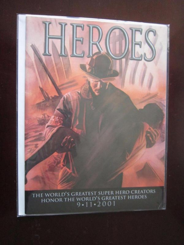 Heroes #1 - 3rd print - GN graphic novel - 7.0? - 2001