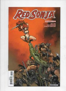 RED SONJA #24 D, NM-, She-Devil, Vol 4, Brown, 2017 2018, more RS in store