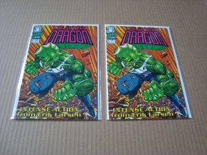 LOT OF 7 SAVAGE DRAGON COMICS (1992-1998 IMAGE COMICS)