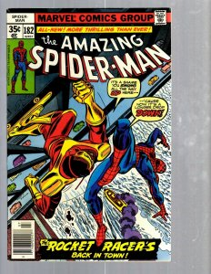 Amazing Spider-Man # 182 VF/NM Marvel Comic Book MJ Vulture Goblin Scorpion TJ1