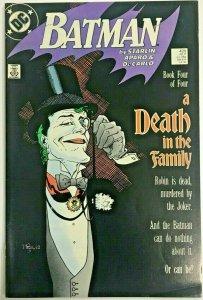 BATMAN#429 FN/VF 1988 'A DEATH IN THE FAMILY' DC COMICS
