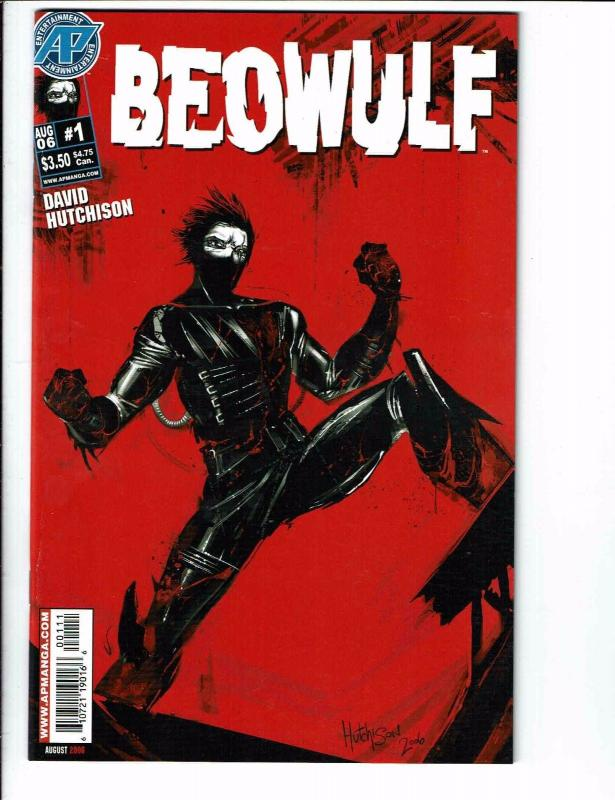 Beowulf # 1 NM AP Manga Comic Book 1st Print David Hutchison 2006 Comics J99
