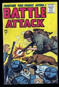 Battle Attack #4 VG 4.0