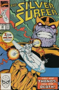 Silver Surfer, The (Vol. 3) #34 FN; Marvel   save on shipping - details inside