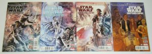 Journey To Star Wars: the Force Awakens - Shattered Empire #1-4 VF/NM complete