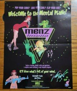 17 x 22 Menz Insana Vertigo DC Comics Promo Poster NO PIN HOLES NEW