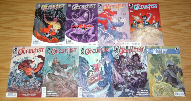 the Occultist #1-3 VF/NM complete series + one-shot + mini #1-5 tim seeley set