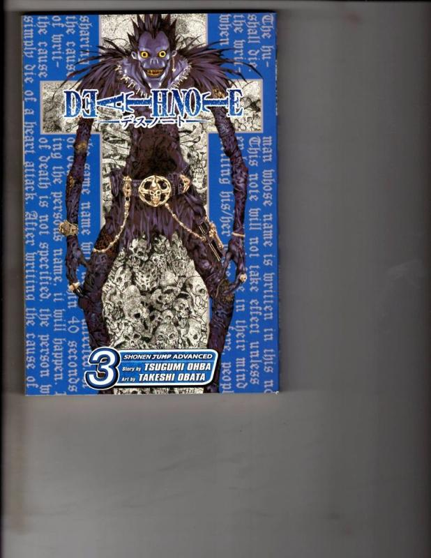 Death Note Vol. # 3 Shonen Jump Advanced Viz Media Manga Comic Book Anime AB1