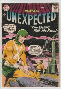 Tales of the Unexpected #38 (Jun-59) GD- Affordable-Grade