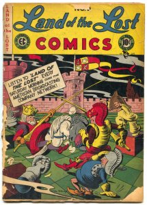 Land of the Lost #9 1948- EC Funny Animals RARE low grade