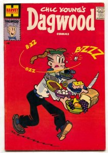 Dagwood #107 1959- Harvey comics- high grade VF