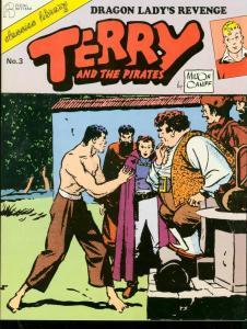 TERRY AND THE PIRATE #3-1986-MILTON CANIFF-TPB-BURMA VG