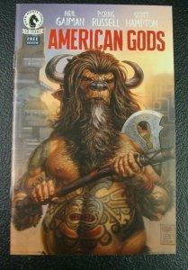American Gods Ashcan Free Preview Dark Horse Comics 30 Years Neil Gaiman NM
