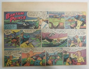 The Bantam Prince Sunday by Lariar and Pfeufer from 1/13/1952 Size: 11 x 15 in
