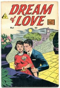 Dream of Love #1 1958- IW Romance- Bob Powell VG+