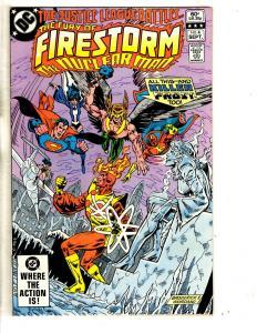 Lot Of 7 Firestorm The Nuclear Man DC Comic Books # 4 5 6 7 8 9 10 Batman CR22