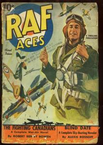 RAF ACES 1941-#1-RARE FIRST ISSUE PULP G/VG