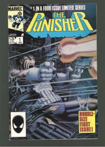 Punisher #1 (mini-series);VF/NM 9.0;Classic Zeck cover!