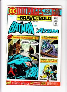 Brave and the Bold, The #115 (Nov-74) NM/NM- High-Grade Batman, the Atom