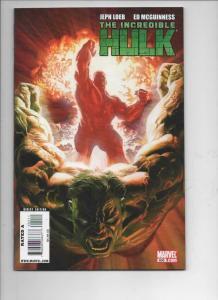 Incredible HULK #600, NM-, McGuinness, Bruce Banner, 1968 2009, Marvel