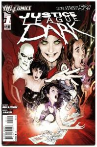 Justice League Dark #1-2011-New 52-HTF Second Print-Deadman