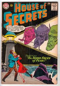 House of Secrets #62 (Oct-63) FN- Mid-Grade Mark Merlin, Eclipso