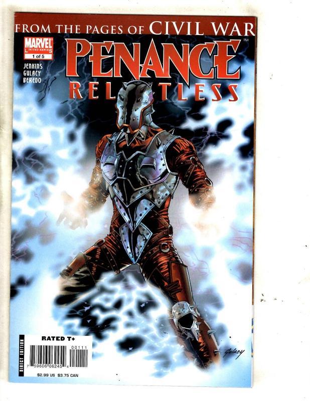 10 Comics Penance 1 Civil War 3 House Of M 3 4 5 Schism 4 Omega 1 2 3 4 MF10