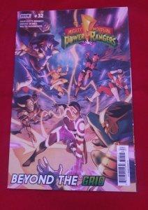 Mighty Morphin Power Rangers #32 BOOM Comics 2019 Beyond The Grid NM