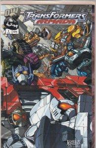 Transformers: Armada (CA) #1 (2002)