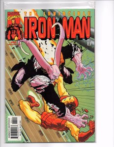 Marvel Comics Iron Man (Vol. 3) #34 Joe Quesada Story Paul Ryan Art