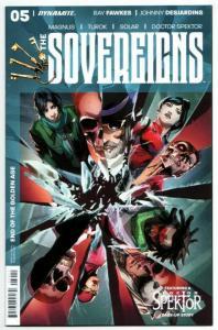 Sovereigns #5 (Dynamite, 2017) VF