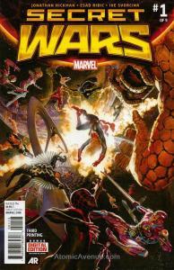 Secret Wars #1 (3rd) VF/NM; Marvel | save on shipping - details inside