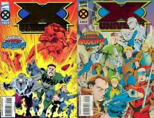 X UNIVERSE (1995) 1-2  Complete Series!