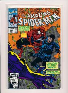 MARVEL COMIC THE AMAZING SPIDER-MAN #349 1991 FINE/VF (SRU347)