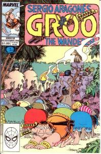 GROO 58 VF-NM  Nov. 1989 SERGIO ARAGONES COMICS BOOK