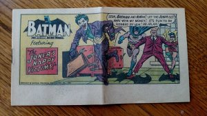Batman 60's Pop-Tart Comics The Joker's Happy Victims 1966