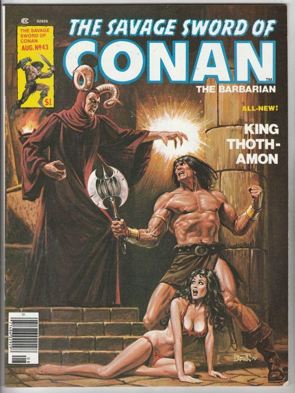 Savage Sword of Conan #43 (Aug-79) NM- High-Grade Conan