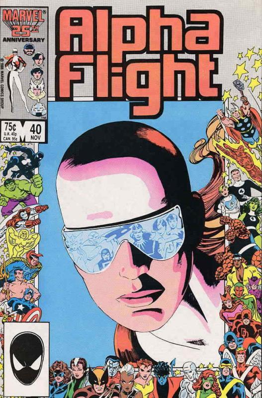 Alpha Flight (1st Series) #40 VF/NM; Marvel | save on shipping - details inside