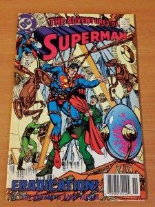 Adventures of Superman #460 ~ NEAR MINT NM ~ (1989, DC Comics)