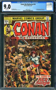 Conan the Barbarian #24 (Marvel, 1973) - KEY 1st Red Sonja