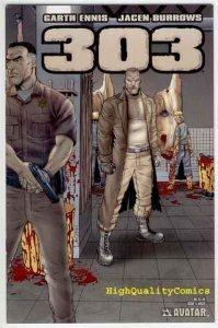 303 #5, NM+, Garth Ennis, Burrows, Rifle, Avatar, 2004, more Ennis in store (a)