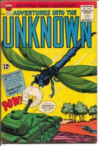 Adventures Into The Unknown #152 1964-ACG-Kurt Schaffenberger-VF-