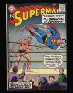 Superman #155 VG 4.0