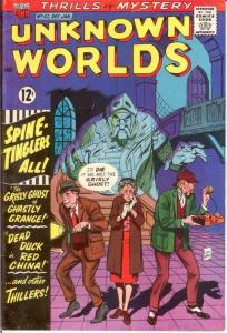UNKNOWN WORLDS (1960-1967 ACG) 52 FINE Jan. 1967 COMICS BOOK