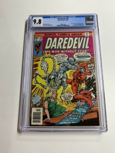 Daredevil 138 Cgc 9.8 Ow/w Pages Marvel Bronze Age
