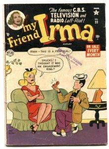 My Friend Irma #22 1954-ATLAS-DAN DECARLO ART-SPICY G/VG