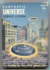 Fantastic Universe Science Fiction July 1954-Philip Jose Farmer