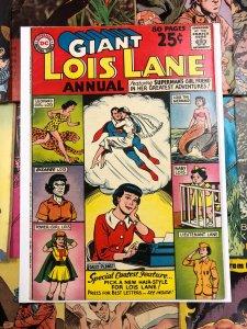 Giant Lois Lane Annual #1 F/VF 7.0 superman DC national comics 1962 usa AMERICA