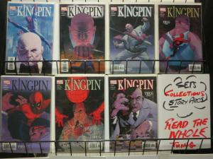 KINGPIN (2003) 1-7  complete SPIDERMAN spinoff series!